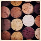 Wine corks old photo — Foto Stock