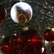Stock Video: Christmas decorations