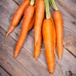 Bunched Carrots — Stock Photo