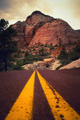 Zion への道 — ストック写真