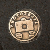 Fuji Phototrail plaque — Stock Photo