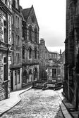 Edinburgh straße — Stockfoto