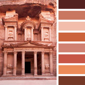 Petra Palette — Stock Photo