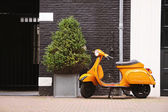 Scooter in Amsterdam — Stock Photo