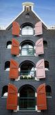 Edificio di amsterdam — Foto Stock