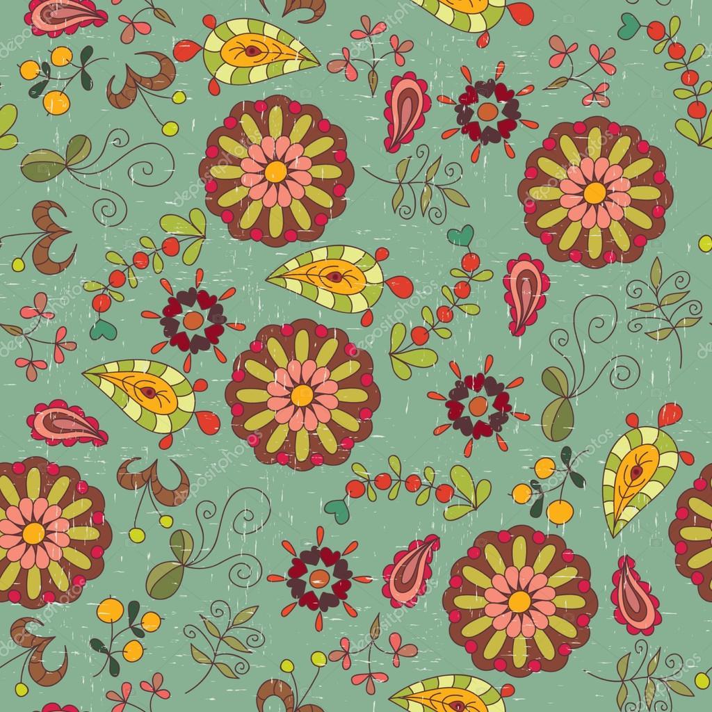 Pin vintage wallpaper stock vector evdakovka 9125928 wallpaper on