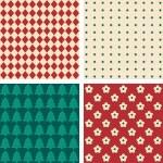 Retro seamless wallpaper pattern — Stock Vector