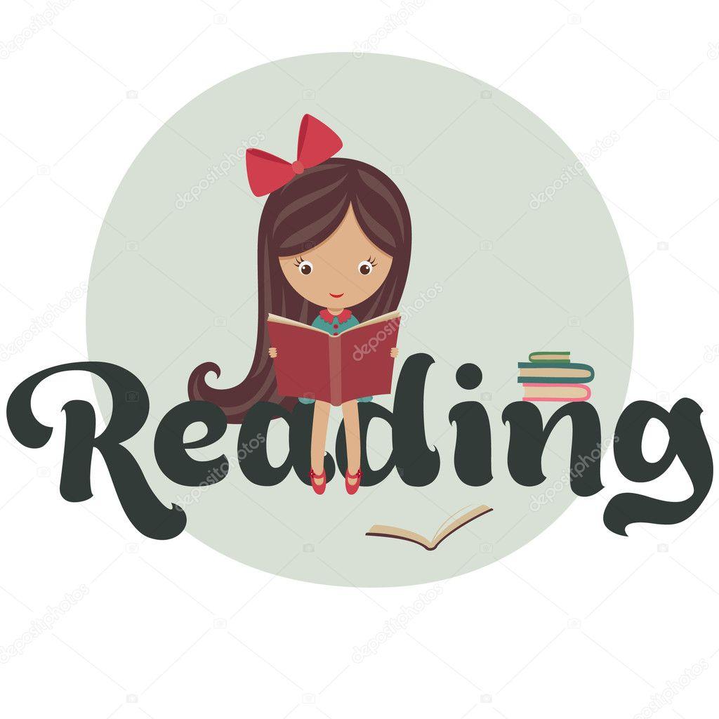 reading | 图库矢量图片 08 natalie-art #18466827