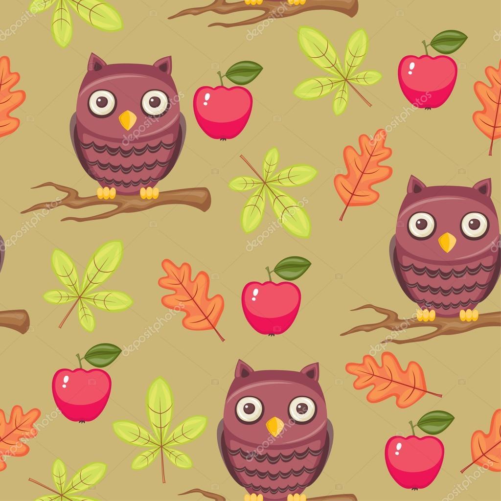 Free Owl Wallpapers: Cartoon Owl Wallpaper