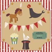 Circus clip art — Stock Vector