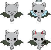 蝙蝠图标 — 图库矢量图片