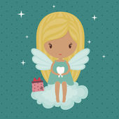 Tooth fairy — Stock Vector