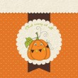 Halloween greeting card — Imagen vectorial