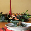 Traditional christmas table — Stock Photo #16791729