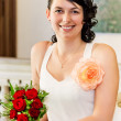 Portrait of bride — Stock Photo