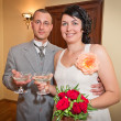 Married couple at wedding day — Stock Photo #12255019