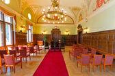 Civil wedding house in Gdansk — Stock Photo