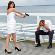 Foto Stock: Marriage depression