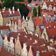 Architecture of old town in Gdansk — Stock Photo