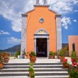 Architecture of Greek churches — Stock Photo