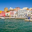 Agios Nikolaos city on Crete — Stock Photo