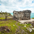 Archaeological ruins of Tulum — Stock Photo