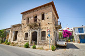 Greek houses in small town of Lasithi Plateau — Stock Photo