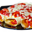 Mexican enchiladas on plate — Stock Photo