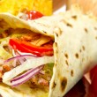 Turkish chicken doner kebab — Stock Photo #12600048