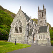 Gothic church in Connemara mountains — Stock Photo