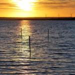 Sunset at Baltic Sea — Stock Photo
