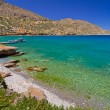 Постер, плакат: Turquise water of Mirabello bay on Crete