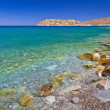 Постер, плакат: Mirabello bay with Spinalonga island on Crete