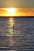 Sunset at Baltic Sea — Stock Photo