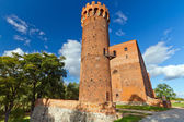 Medieval Teutonic castle in Swiecie — Stock Photo