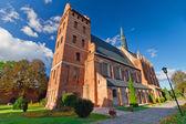 Medieval Fara Church in Swiecie — Stock Photo