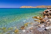 Mirabello defne ile girit adasında spinalonga — Stok fotoğraf