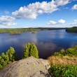 Foto Stock: Swedish lake in summer time