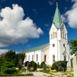 Royalty-Free Stock Photo: Traditional Swedish white church