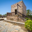 Small Greek house in the village of Lasithi Plateau — Foto Stock