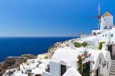 Oia village scenery on Santorini island, Greece — Stock Photo