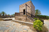 Small Greek house in the village of Lasithi Plateau — Stock Photo