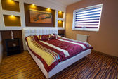 Modern master bedroom interior — Stock Photo