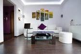 Modern lliving room interior — Stock Photo