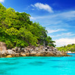 Idyllic bay on Similan islands — Stock Photo