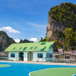 Elementary school in Koh Panyee fisherman village — Stock Photo