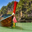 Long tail boat in Thailand — Stock Photo