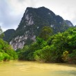 Canoe trip in Khao Sok National Park — Stock Photo