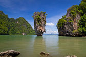 James Bond Island in Thailand — Stock Photo