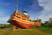 Mémorial de tsunami à baan nam khem — Photo